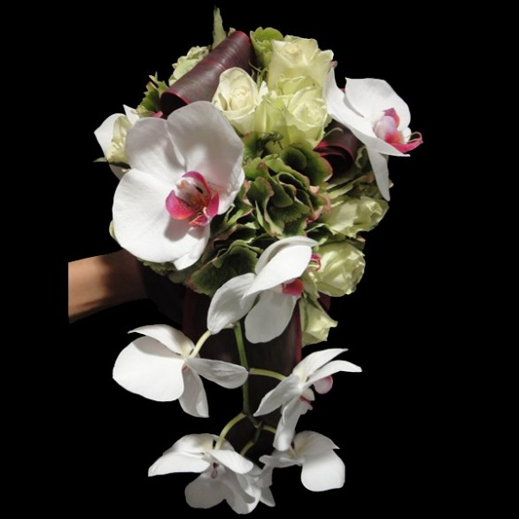 Bouquet De Mariee Coeur Rose